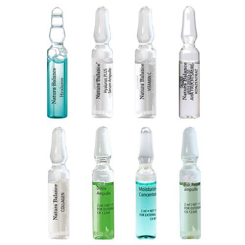 24x 2ml AMPULLEN KUR 8 Sorten Hyaluron Serum Collagen Anti Falten Hyaluronsäure