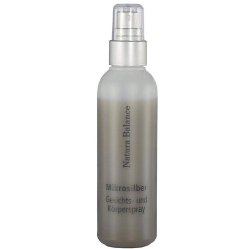 100ml Microsilber Gesichts Körperspray Spray Aftersun Sonnenbrand MikroSilber